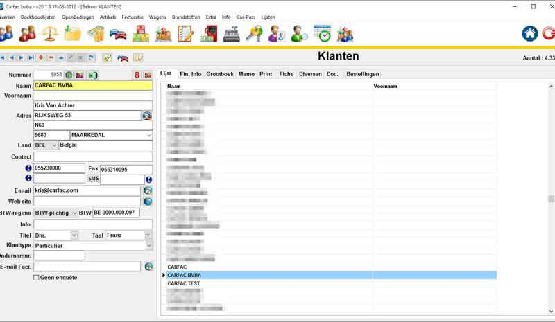 Image Klantenbeheer, rappels, brieven, mailings